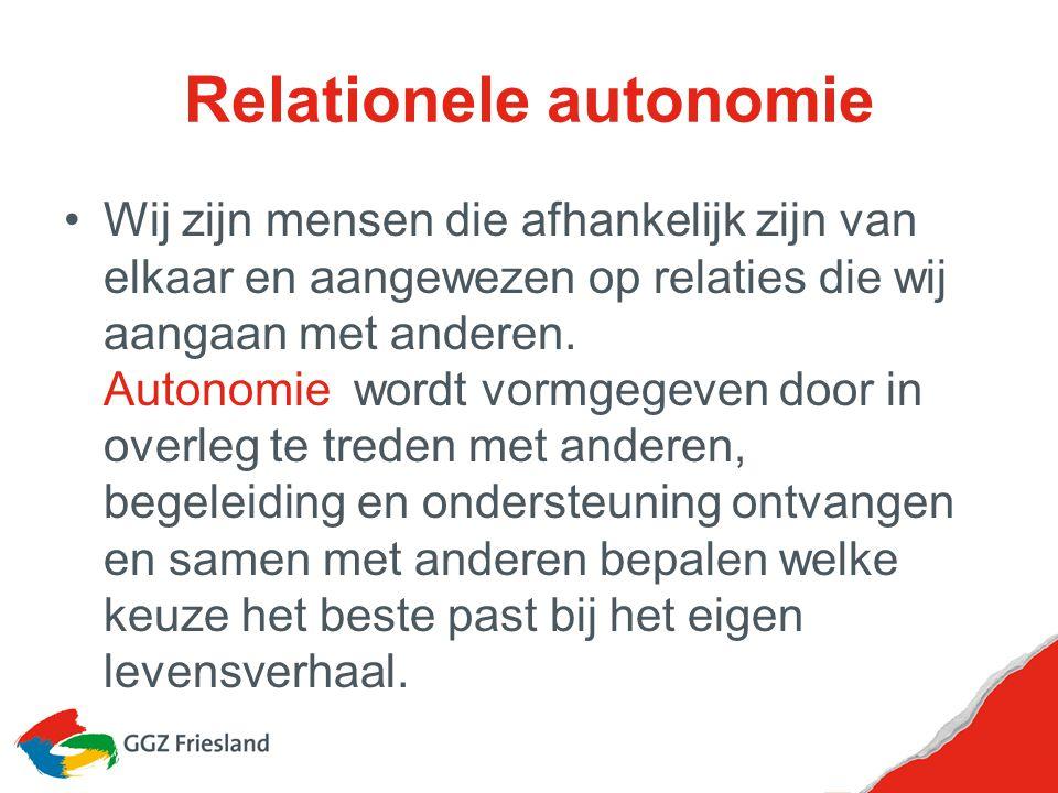 Relationele autonomie