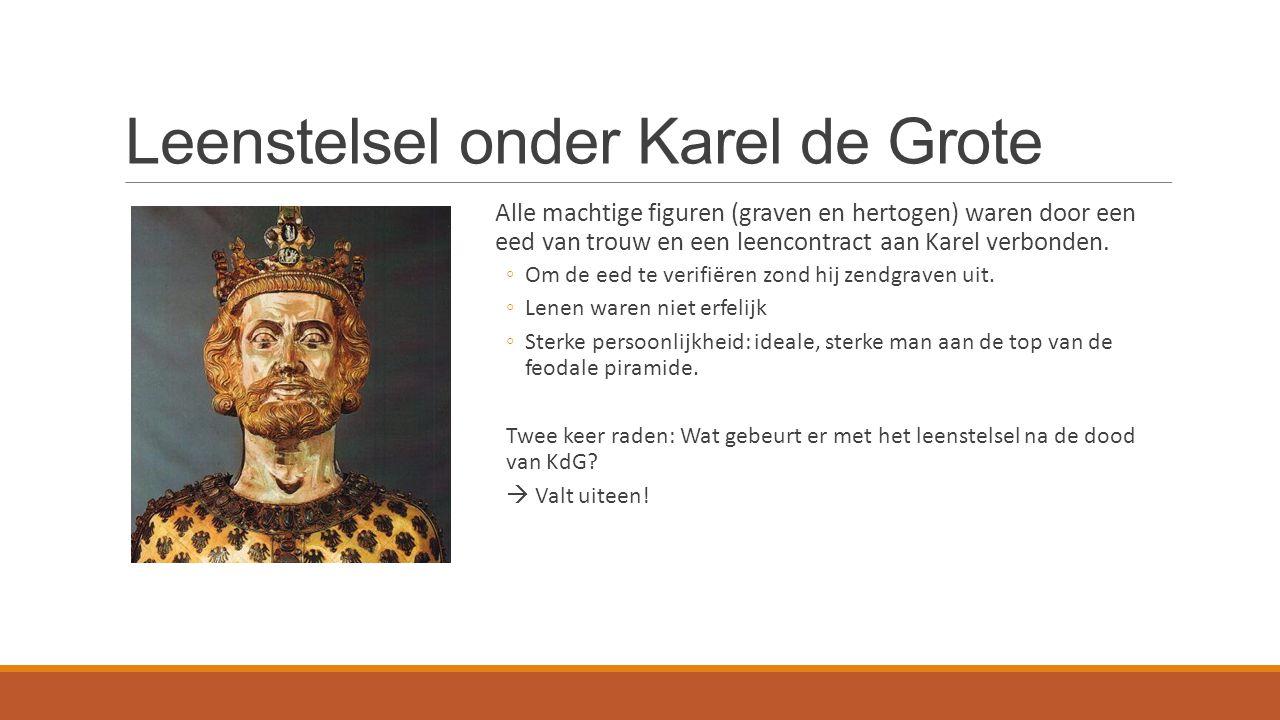 Leenstelsel onder Karel de Grote