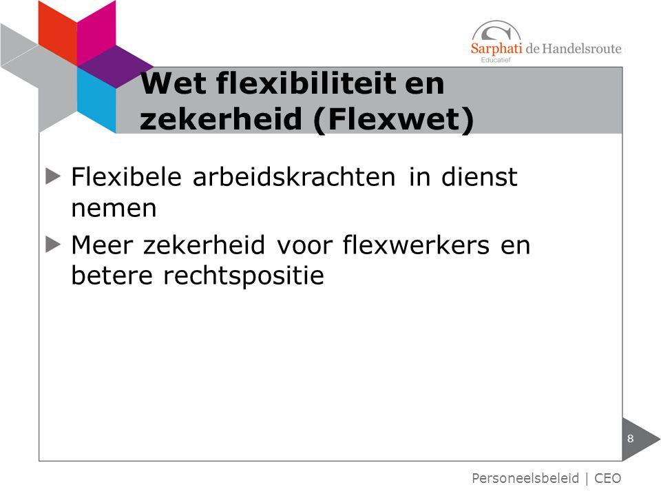 Wet flexibiliteit en zekerheid (Flexwet)
