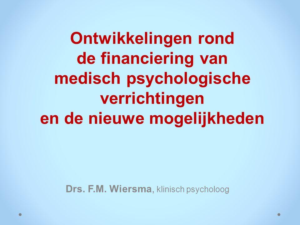 Drs. F.M. Wiersma, klinisch psycholoog