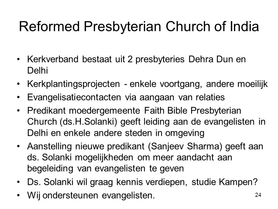 Reformed Presbyterian Church of India