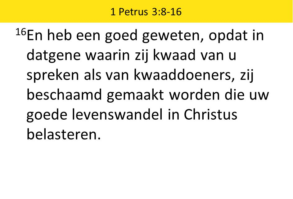 1 Petrus 3:8-16