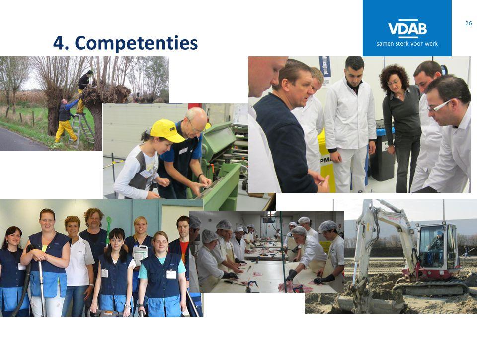 4. Competenties