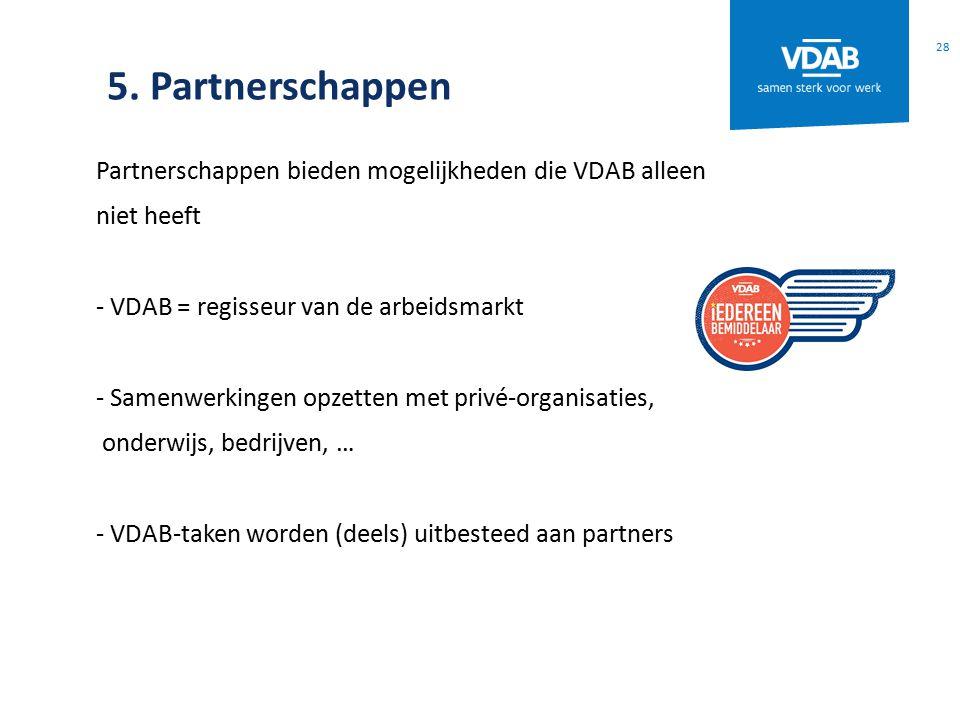 5. Partnerschappen