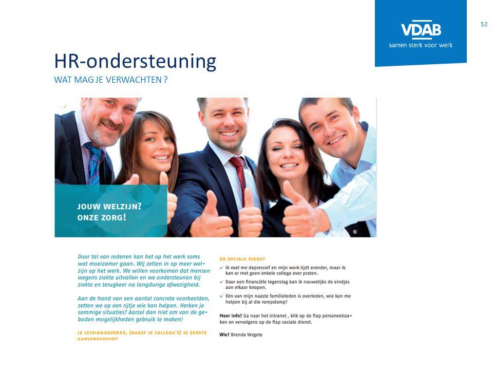 HR-ondersteuning Wat mag je verwachten
