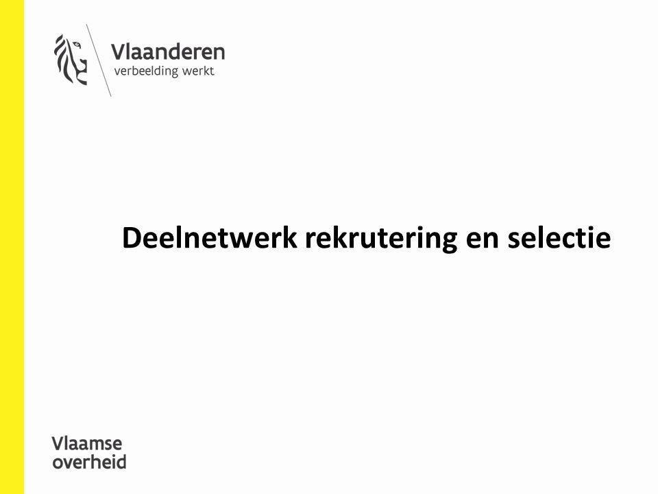 Deelnetwerk rekrutering en selectie