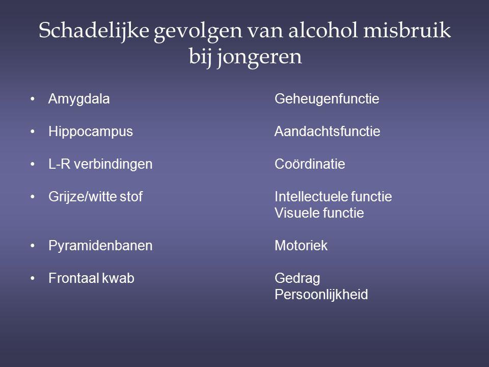 Schadelijke gevolgen van alcohol misbruik bij jongeren