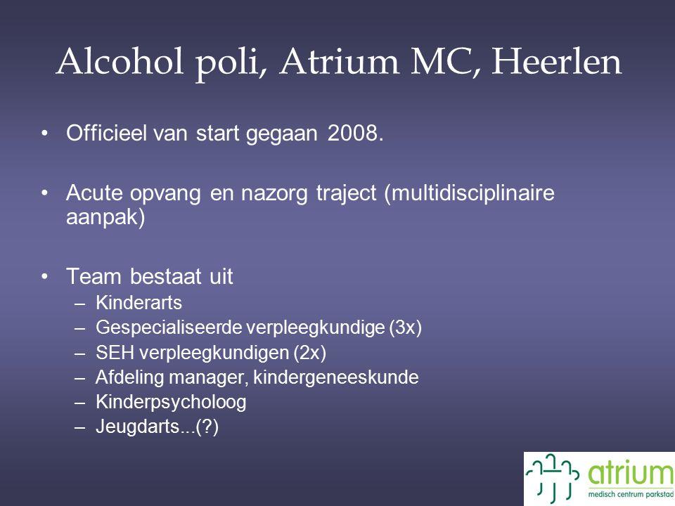 Alcohol poli, Atrium MC, Heerlen