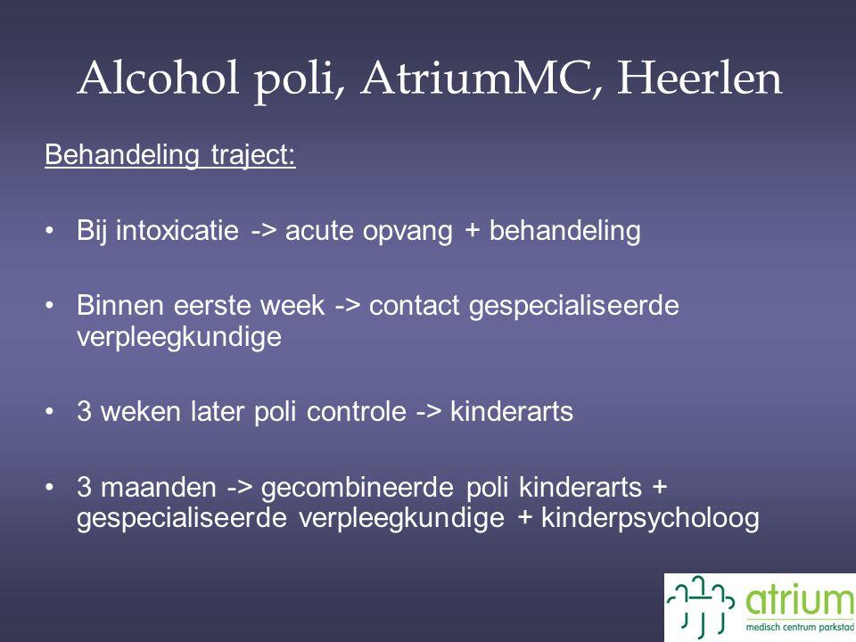 Alcohol poli, AtriumMC, Heerlen