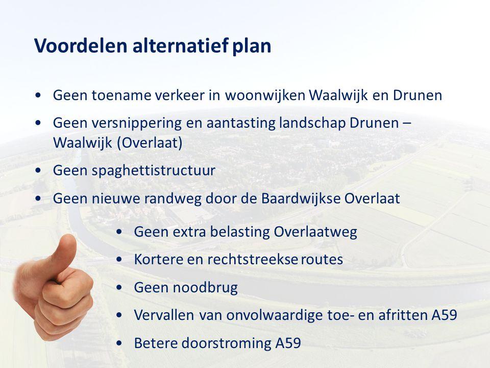 Voordelen alternatief plan