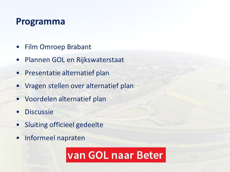 Programma Film Omroep Brabant Plannen GOL en Rijkswaterstaat