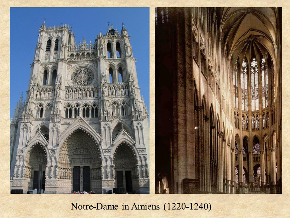 Notre-Dame in Amiens (1220-1240)