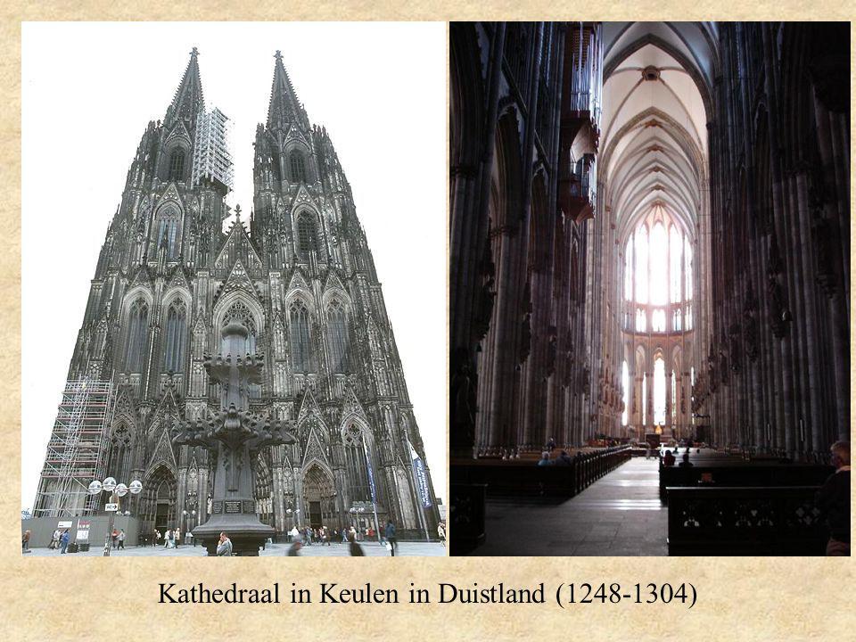 Kathedraal in Keulen in Duistland (1248-1304)