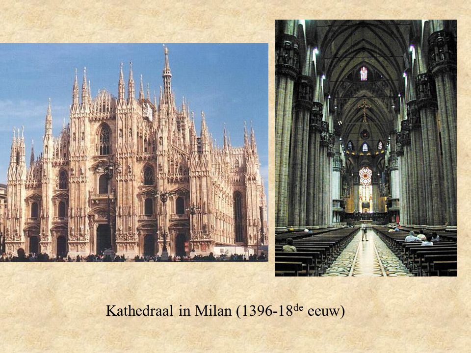Kathedraal in Milan (1396-18de eeuw)