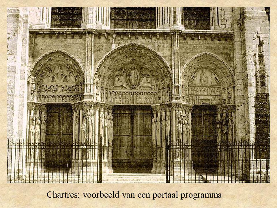 Chartres: voorbeeld van een portaal programma