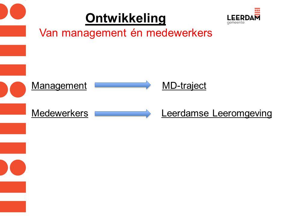 Ontwikkeling Van management én medewerkers