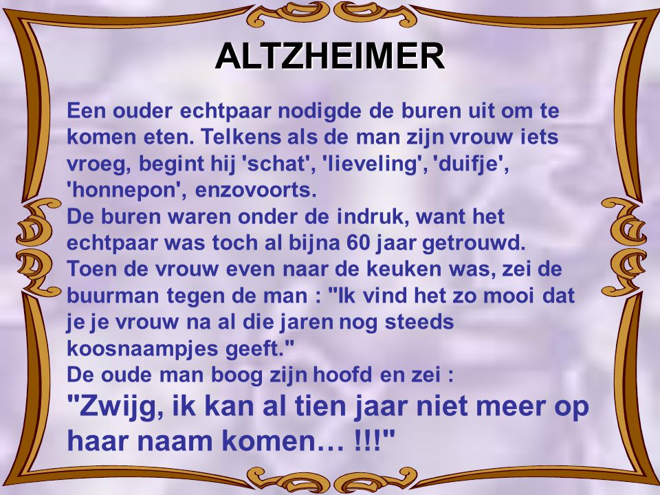 ALTZHEIMER