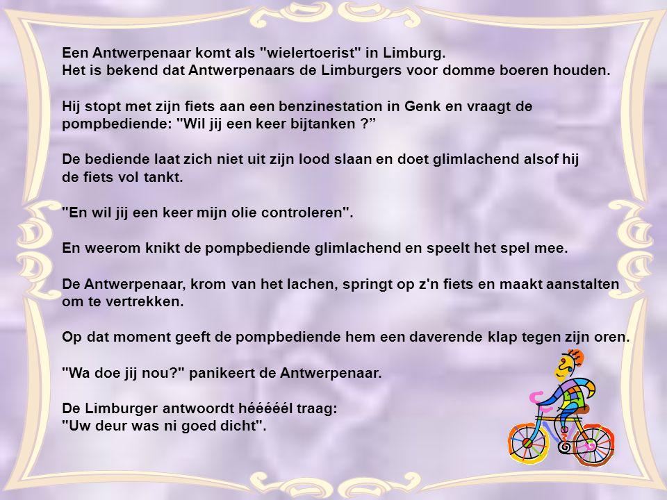 Een Antwerpenaar komt als wielertoerist in Limburg