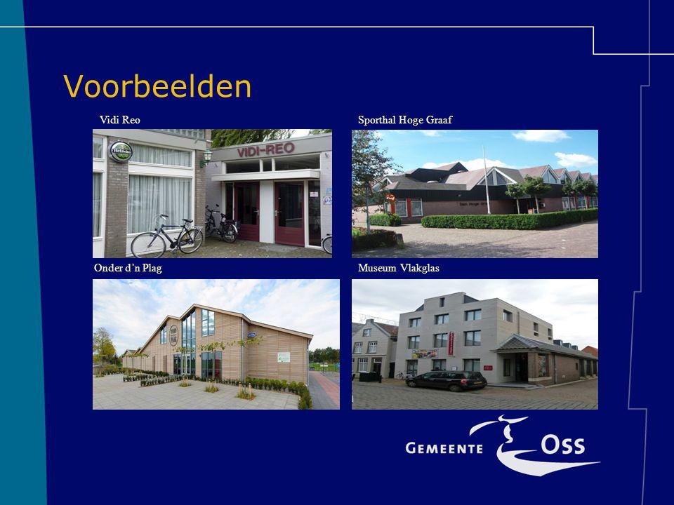 Voorbeelden Vidi Reo Sporthal Hoge Graaf Onder d'n Plag
