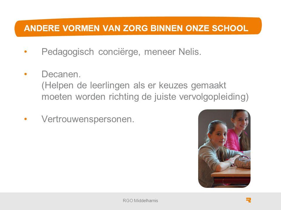 ANDERE VORMEN VAN ZORG BINNEN ONZE SCHOOL