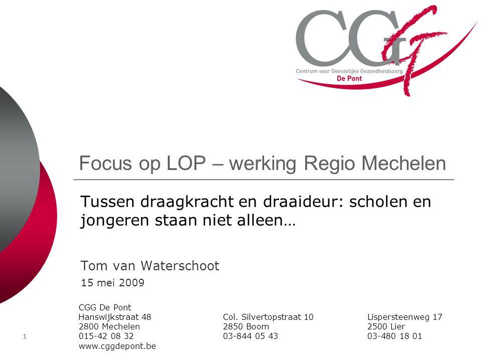 Focus op LOP – werking Regio Mechelen