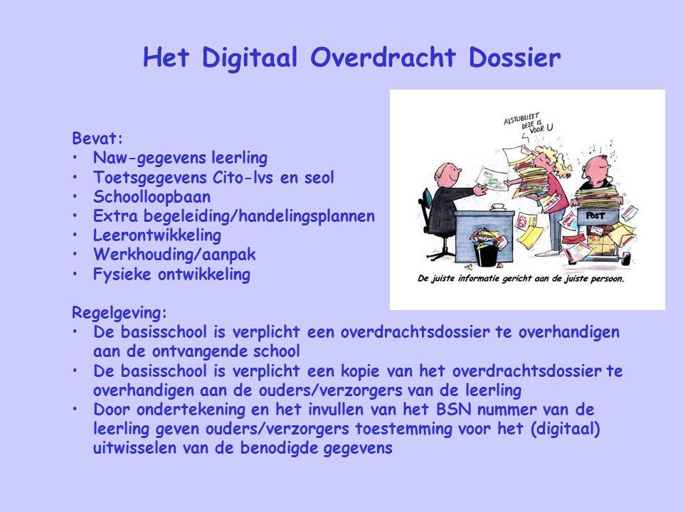 Het Digitaal Overdracht Dossier