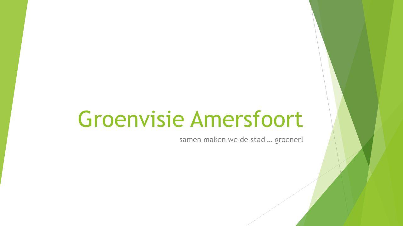 Groenvisie Amersfoort