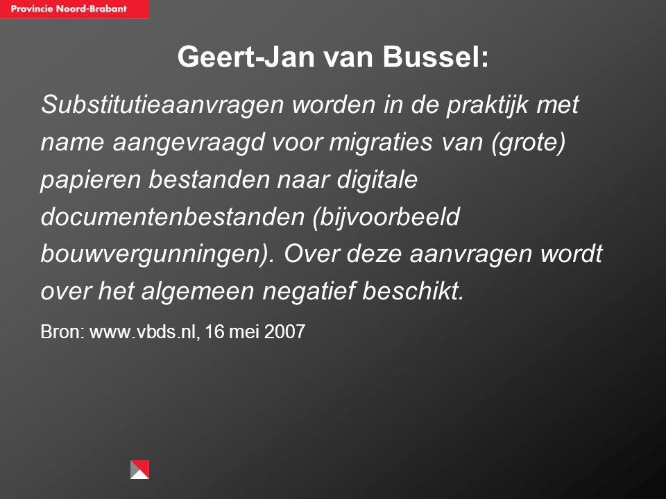 Geert-Jan van Bussel: