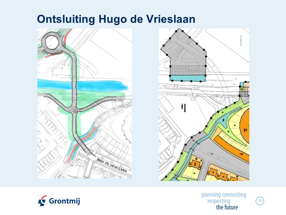 Ontsluiting Hugo de Vrieslaan