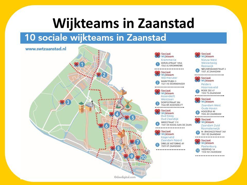 Wijkteams in Zaanstad