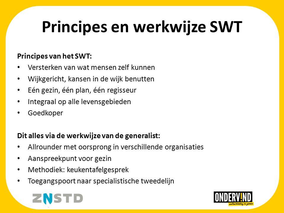 Principes en werkwijze SWT