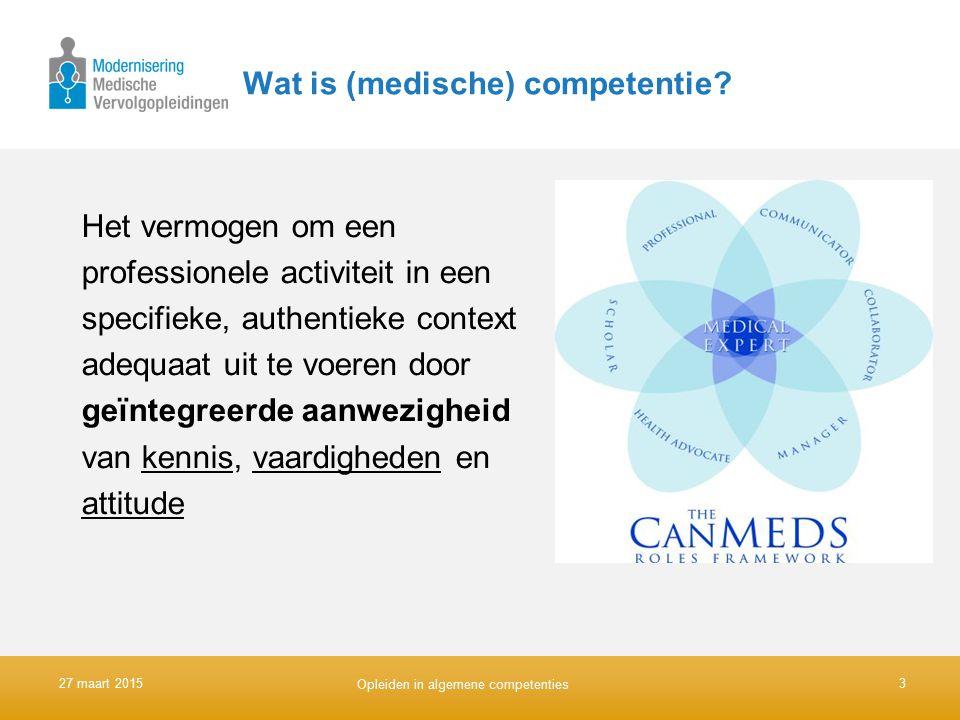 Wat is (medische) competentie