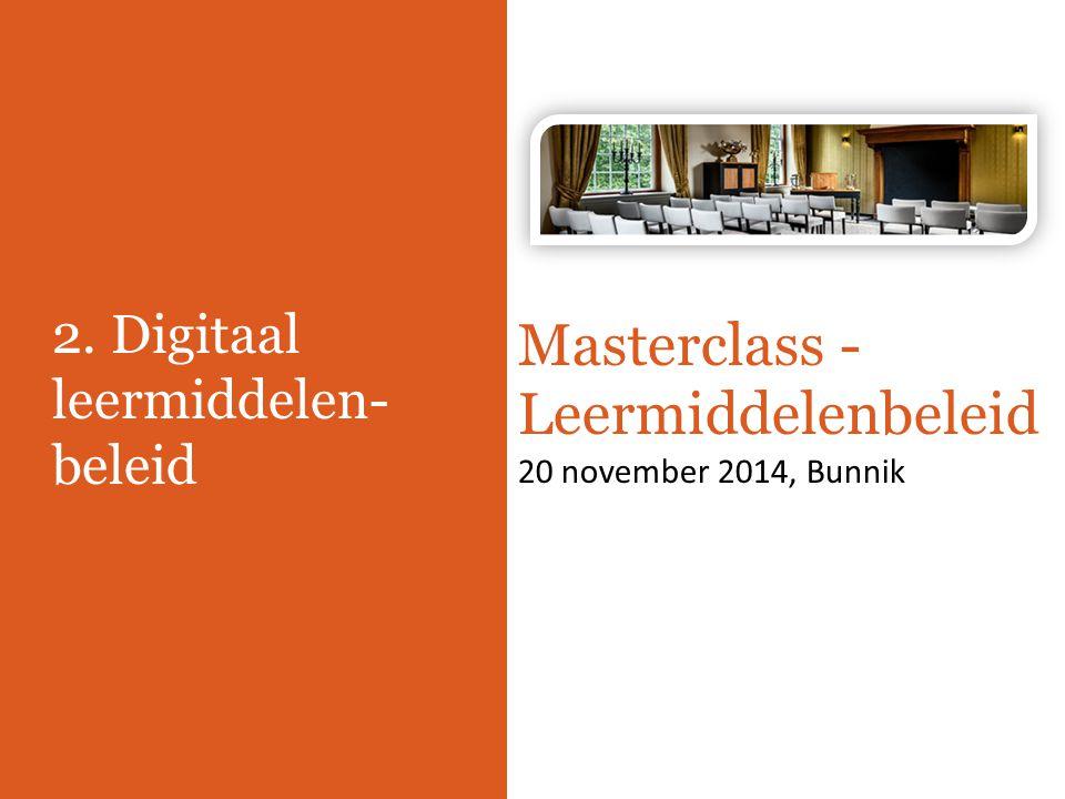 2. Digitaal leermiddelen-beleid