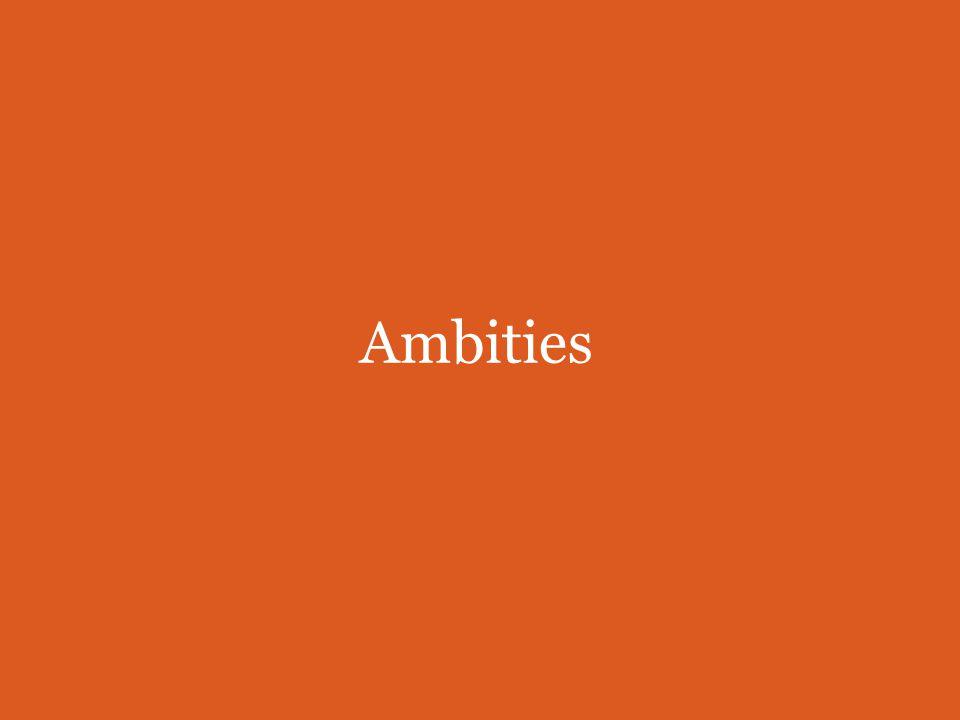 Ambities