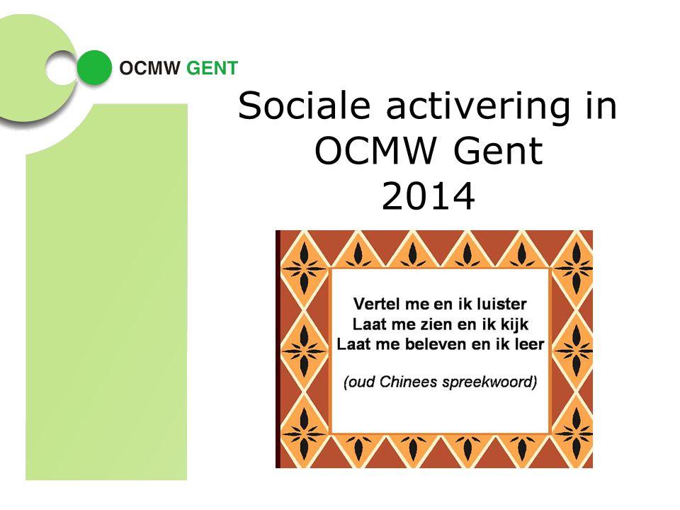 Sociale activering in OCMW Gent