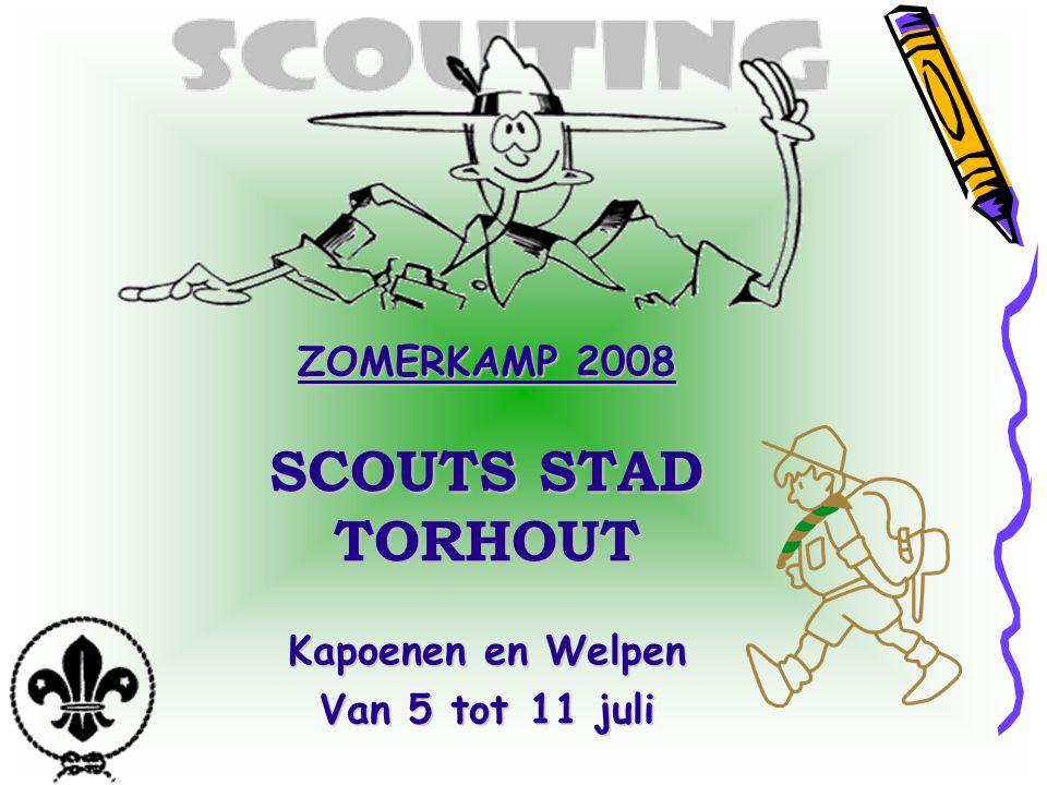 ZOMERKAMP 2008 SCOUTS STAD TORHOUT