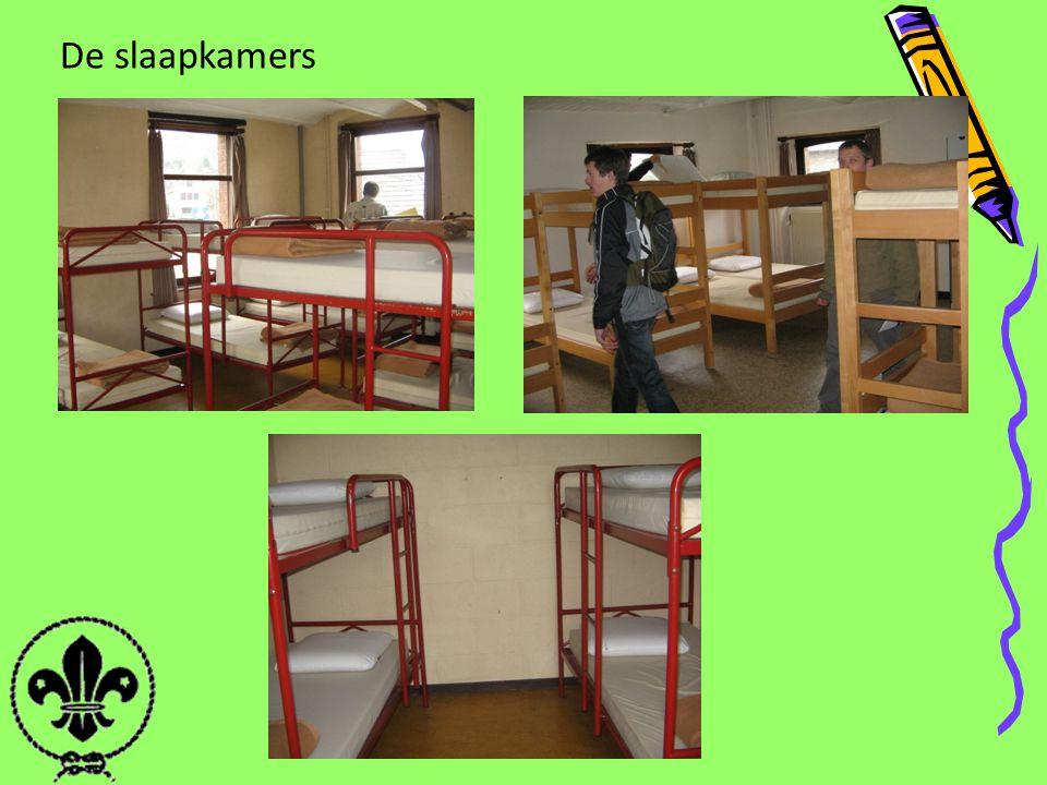 De slaapkamers