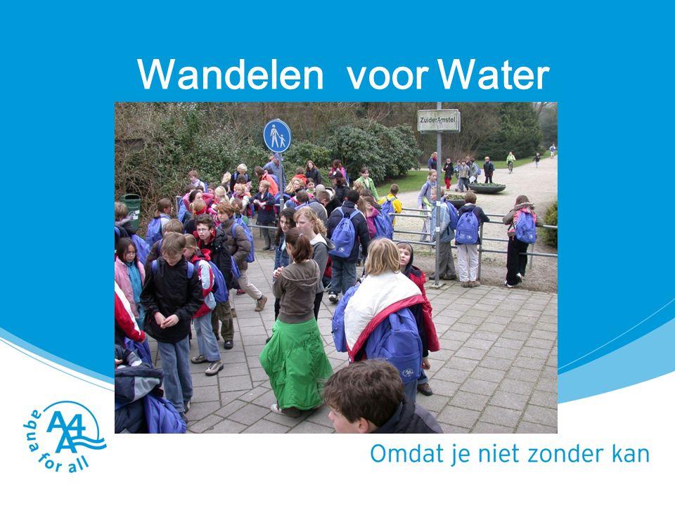 Wandelen voor Water Lespakket Water het blauwe goud (school)