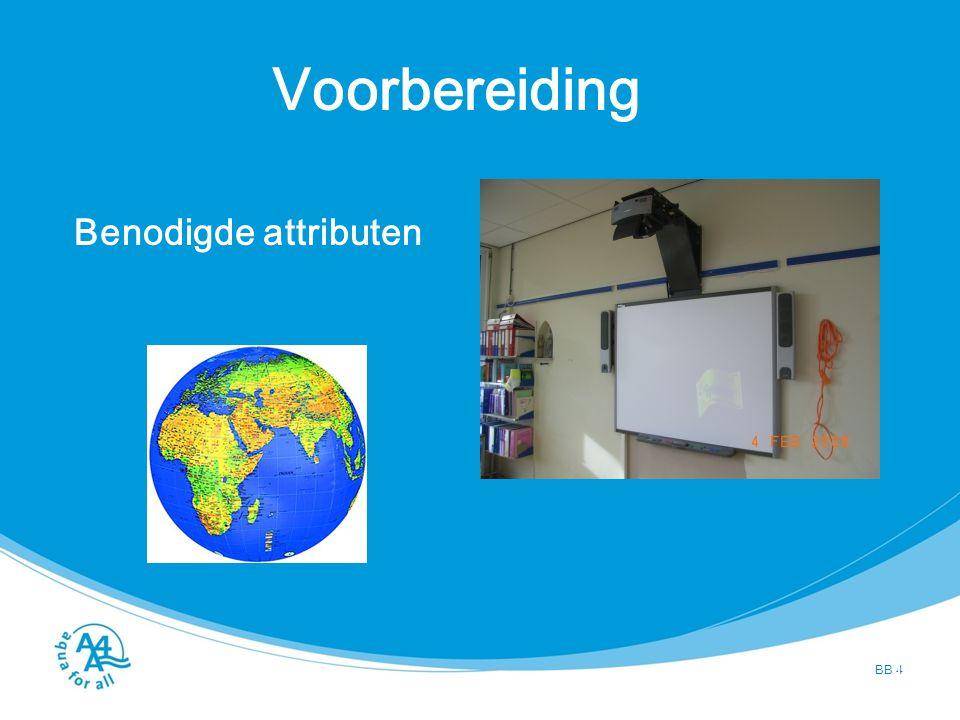 Voorbereiding Aanwezigheid onderwijzer BB 5