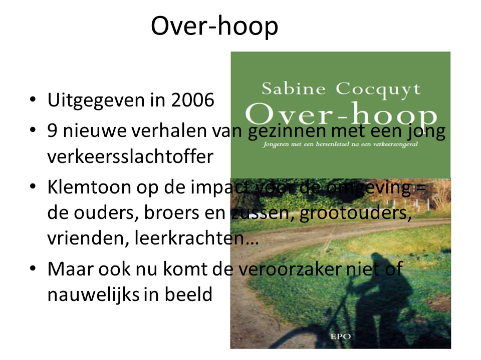 Over-hoop Uitgegeven in 2006