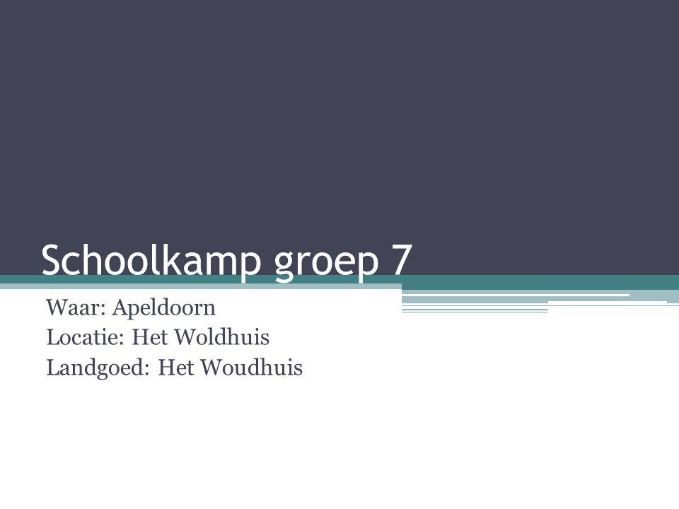 Waar: Apeldoorn Locatie: Het Woldhuis Landgoed: Het Woudhuis