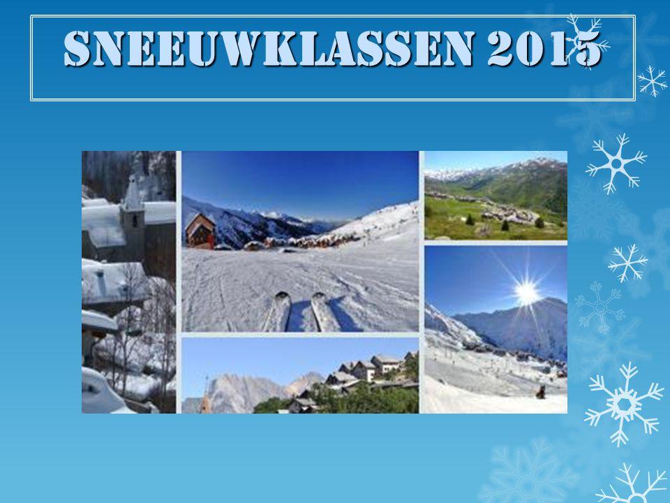 Sneeuwklassen 2015