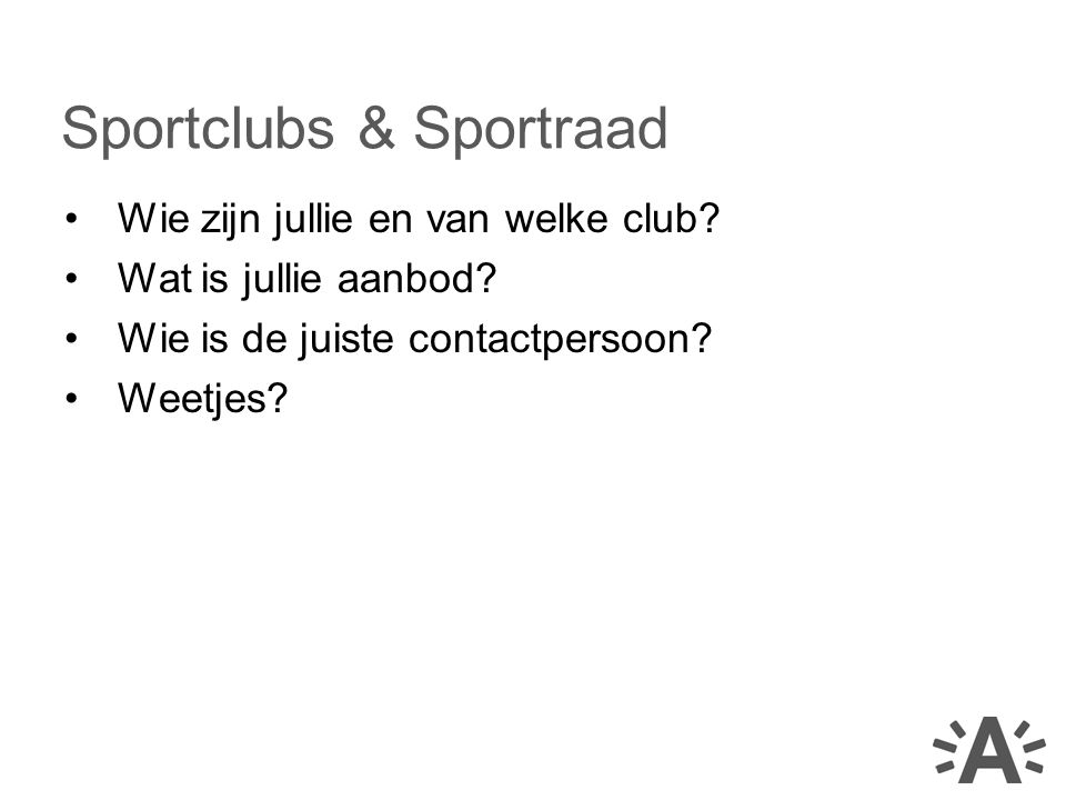 Sportclubs & Sportraad