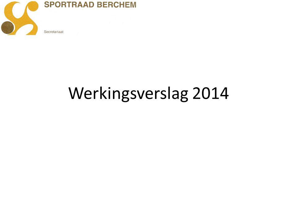 Werkingsverslag 2014