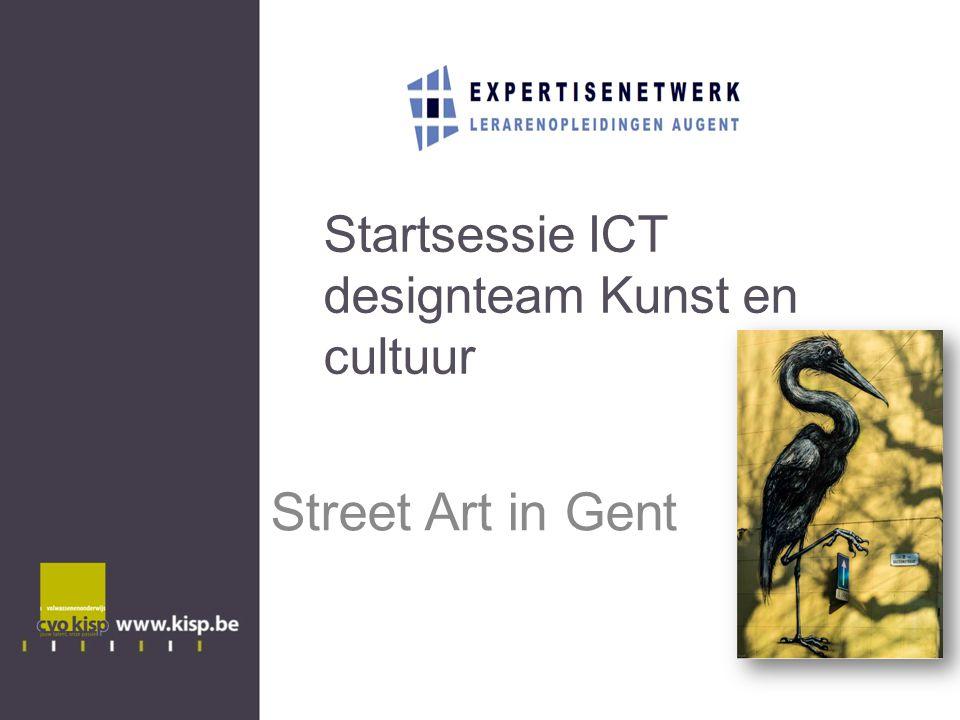 Startsessie ICT designteam Kunst en cultuur