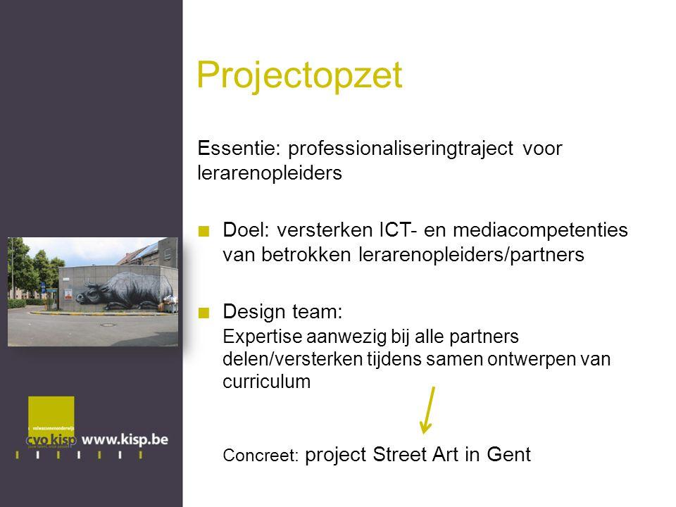 Projectopzet Essentie: professionaliseringtraject voor lerarenopleiders.