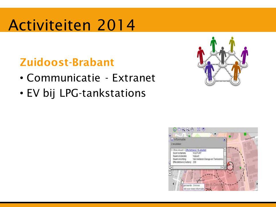 Activiteiten 2014 Zuidoost-Brabant Communicatie - Extranet