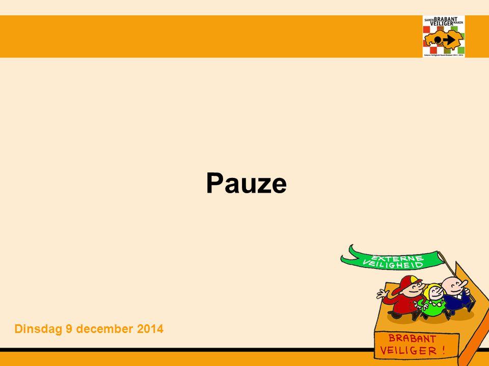 Pauze Dinsdag 9 december 2014