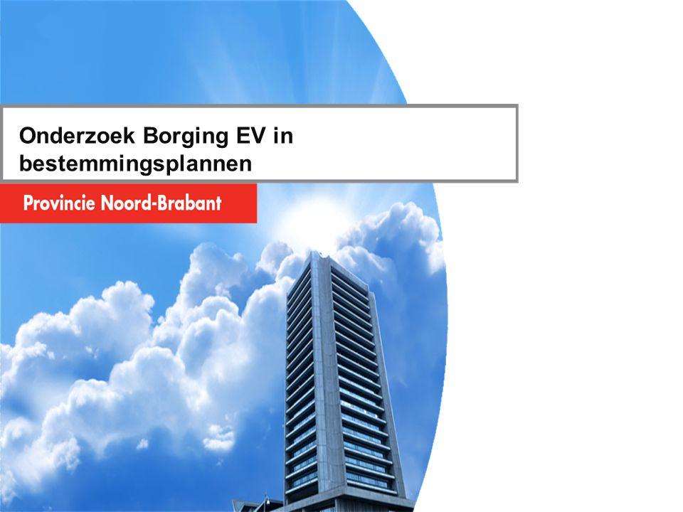 Onderzoek Borging EV in bestemmingsplannen