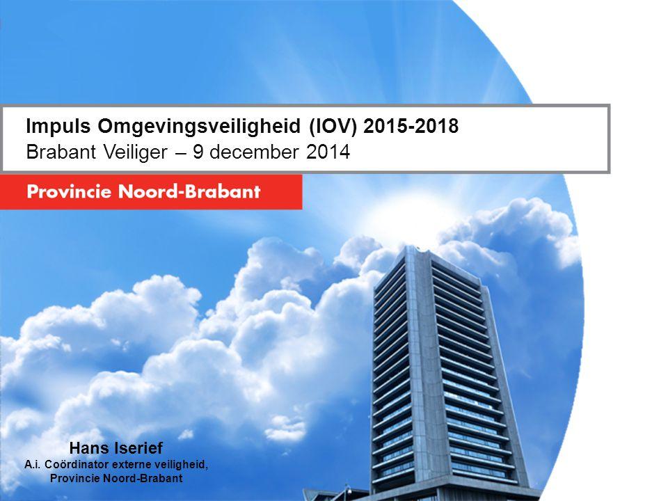 Impuls Omgevingsveiligheid (IOV) 2015-2018